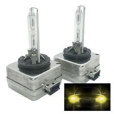 2 x HID Xenon Frontscheinwerfer Leuchtmittel 3000K Gelb D1S