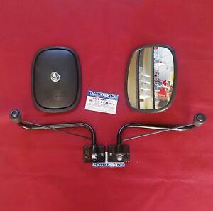 COMPATIBILE CON FIAT 850T 900T  615 - 616 RETROVISORI + BRACCI E BASE PIATTA