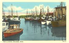 Gloucester,MA. The Fleet in Harbor