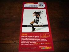 ZAZIE - RARE FLYER RODEO TOUR !!!!!!!!!!!!!!!!!
