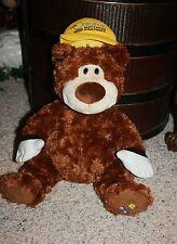 GUND Original Mattress Factory Plush PJ Bear 46635 Stuffed Animal Advertising D3