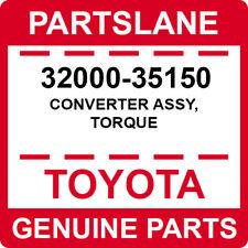 32000-35150 Toyota OEM Genuine CONVERTER ASSY, TORQUE