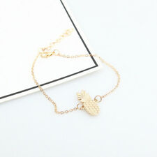 Pineapple Bracelet Foot Jewelry Anklet Ankle Alloy Beach Hollow Fashion