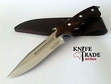 United Cutlery GH5072 Hibben Legacy Combat Fighter Knife II + Leather Sheath