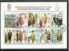 Architecture Souvenir Sheet Asian Stamps