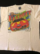 Vintage 90s 1994 Bill Elliott McDonalds XL T-Shirt NASCAR Auto Racing