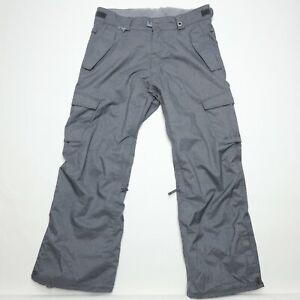 686 infiDRY 10K Waterproof Breathable Warm Thermal Rating Snowboard Pants Large