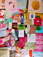 30 Piece High End Nice Skincare/Makeup K-Beauty Lot Samples And Full Size Masks