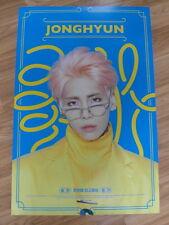 JONGHYUN (SHINee) - FIRST ALBUM [ORIGINAL POSTER] *NEW* K-POP 1ST