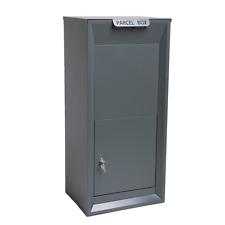 SVITA Parcel Box Paketbriefkasten Paketbox Packstation Grau