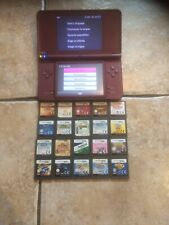 Nintendo DSi XL Console Burgundy, with 20 Games