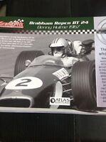 A3a Atlas Editions Booklet Grand Prix Legends Of Formula One Denny Hulme