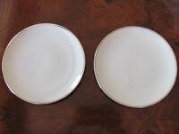 Franciscan China Platinum Band -Encanto Ivory - Set of 2 Bread & Butter Plates