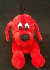 """Small Lying Clifford the Big Red Dog Plush Stuffed Animal by Scholastic 10"""""""