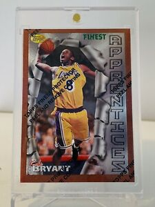 Kobe Bryant 1996-97 Topps Finest Rookie Card # 74 with Coating RC Lakers 🔥