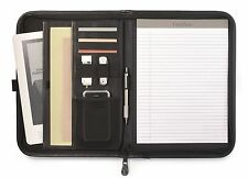 Gemline Delegate Simulated Leather Classic Business Zippered Padfolio -
