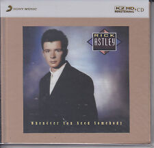 """Rick Astley Whenever You Need Somebody"" Numbered Japan 100KHz/24bit K2HD CD New"