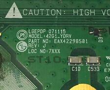 Lg Plasma TV EBR39712601 EAX42298501 42PG3000 Ref :J  Buffer Board (ref1589)
