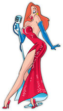 "Jessica Rabbit sticker decal 3"" x 6"""