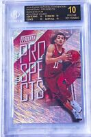 2018 Panini National Magnetic Fur Trae Young RC Rookie 23/99 BGS 10 BLACK LABEL