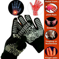 Arthritis Gelenke Handschuhe Selbsterhitzung Turmalin Rheumatoider Magnet New