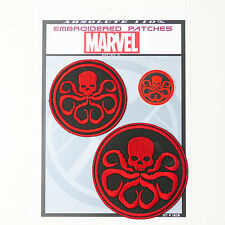 HYDRA SHIELD / AVENGERS Marvel Patches Iron-On Patch Super Set #020 FREE POSTAGE