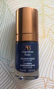 Augustinus Bader The Rich Cream Moisturiser 15ml Brand New