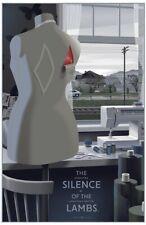 Silence Of The Lambs - Screen Print Laurent Durieux MONDO Artist