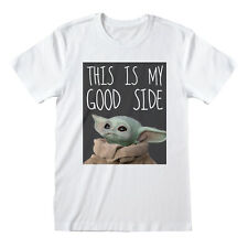 Star Wars Mandalorian The Child - This is my Good Side T-shirt - Size Small