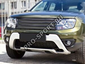 Renault Dacia Duster, 2010 2011 2012 2013-2016 radiator grille and eyes brows