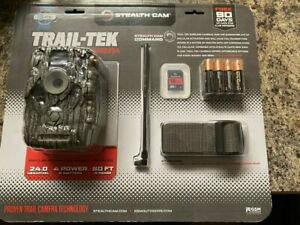Trail-Tek Cellular Camera 24 MP Stealth Cam STC-FVRZW V2