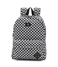 VANS Backpack Old Skool II Checkerboard Black White School Travel Bag