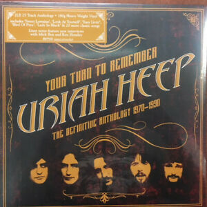 Uriah Heep - Your Turn To Remember 2 LP Greatest Hits Best Of Vinyl Album Record