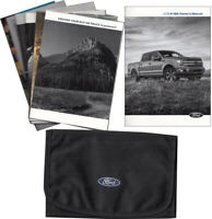 2018 Ford F-150 Owners Manual with Case and Pamphlets F150 Owner User Guide Book