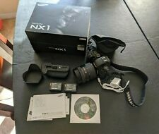 Preowned Samsung NX NX1 28.2MP Digital Camera - Black (Kit w/ S 16-50mm Lens)
