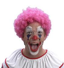 Perruque Afro rose Pop frisée 26011 fetes soirée carnaval deguisement costume