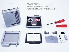 Nintendo Retro GBA NES Shell Game Boy Advance SP Replacement Housing case