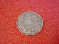 Silber-Münzen 1957 B Schweiz 1 x 1 Franken sihe Bild  Silver Coin Svizzera