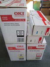 Oki C5600 / 5700 original Toner (2x) & Trommeln (3x)