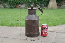 Vintage old metal milk water can jug -  FREE POSTAGE