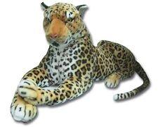 Nouveau extra large léopard doux peluche 150 cm peluche jouet doux