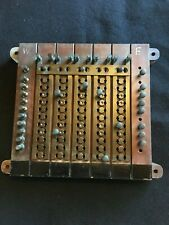 Manhattan Electric Supply Co Strap & Disc switchboard Western Union Telegraph Co
