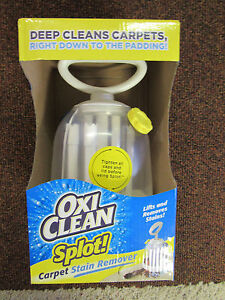 OXI CLEAN Carpet Cleaner & STAIN REMOVER & FREE Sample Bottle Oxi Stain Remover
