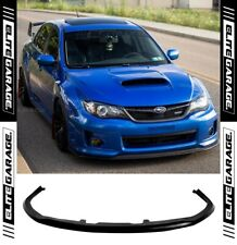 Subaru Impreza WRX STI G3 Widebody Front Lip CS Style Chargespeed G3 (2011-2014)