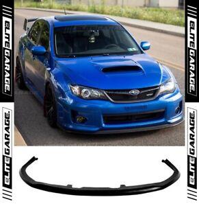 Front Lip CS Chargespeed for Subaru Impreza WRX STI G3 Widebody G3 (2011-2014)