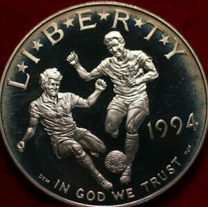 Uncirculated Proof 1994-S World Cup Silver Dollar
