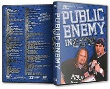 The Public Enemy in ECW 10 DVD-R Set, Extreme Championship Wrestling WWE WCW WWF