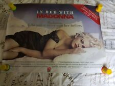 Very rare Madonna In bed with Madonna poster