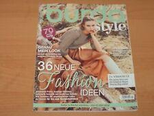 """burda style """"36 NEUE Fashion IDEEN"""" + Schnittmuster Ausgabe August 8/2020"""