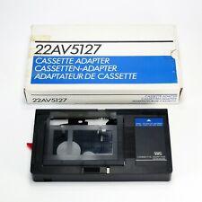 Philips 22AV5127 VHS-C / SVHS-C to VHS Cassette Adaptor - Made In Japan
